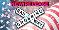 RAILWAY CROSSING -U.S Style-